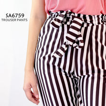 Load image into Gallery viewer, Striped Trouser Pants
