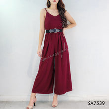 Load image into Gallery viewer, Solid Plain String Jumpsuit