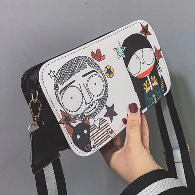 Graffiti Small Sling Bag