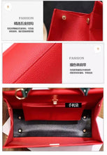 Load image into Gallery viewer, European Style PU Leather Women Handbag