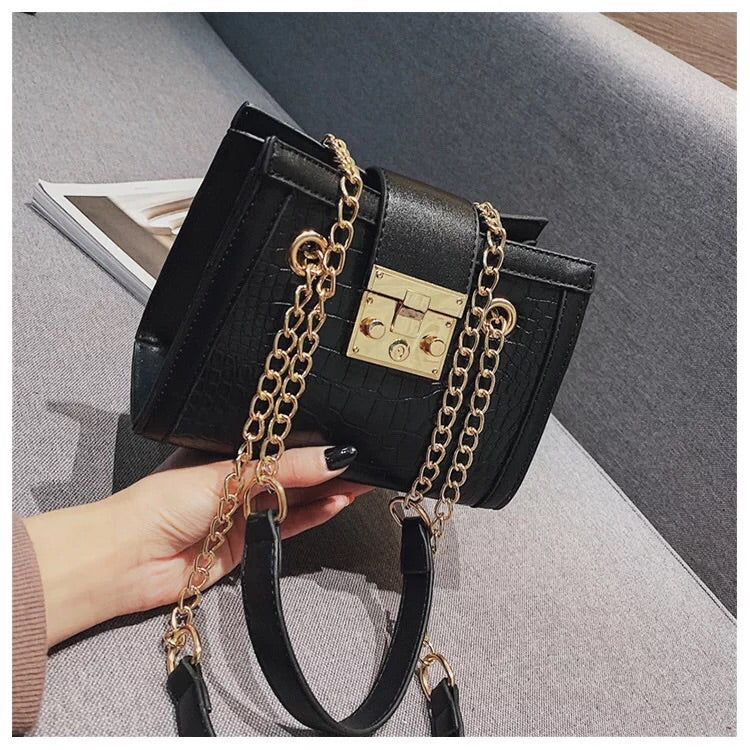 Chain Strap Women Shoulder Bag