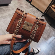 Load image into Gallery viewer, Chain Strap Women Shoulder Bag