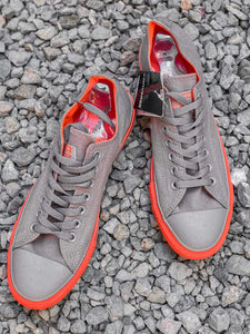 CONVERSE All⭐Star Chuck Taylor Lowtop (Gray & Orange)