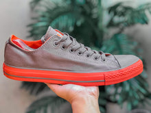Load image into Gallery viewer, CONVERSE All⭐Star Chuck Taylor Lowtop (Gray & Orange)