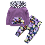 Infant Hoodie + Pant 2pcs Outfit Sets