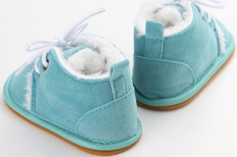 Winter Warm Christening baby boys boots