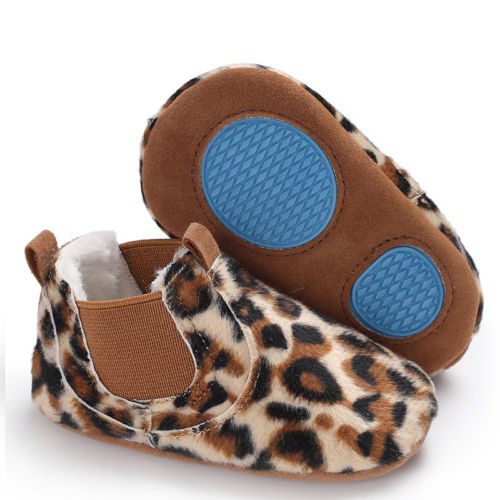 Cute Newborn Toddler Soft Sole Crib Shoes