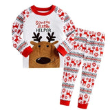 JOCESTYLE 2pcs Christmas Newborn Baby Girls Boys Clothes Set Long Sleeve Tops Pants