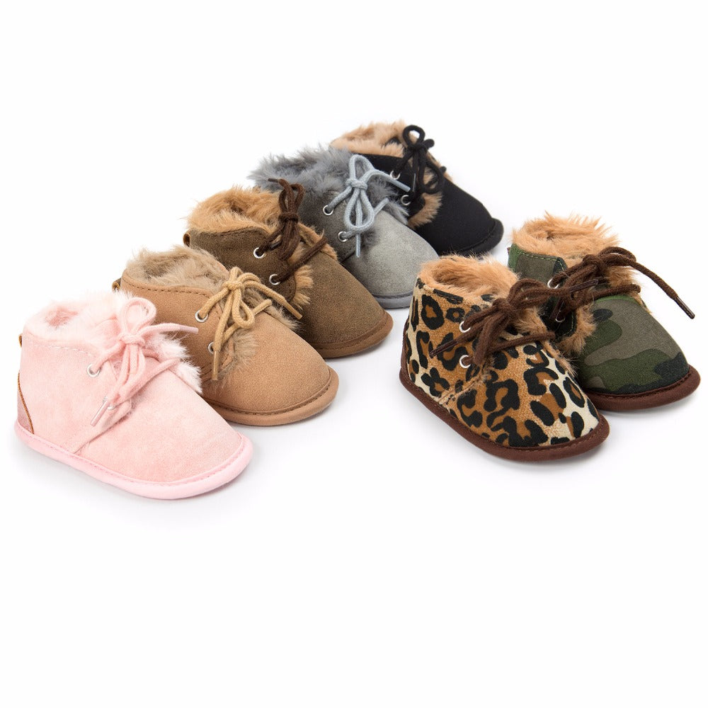 First Walker Baby Winter Warm Crib Shoes