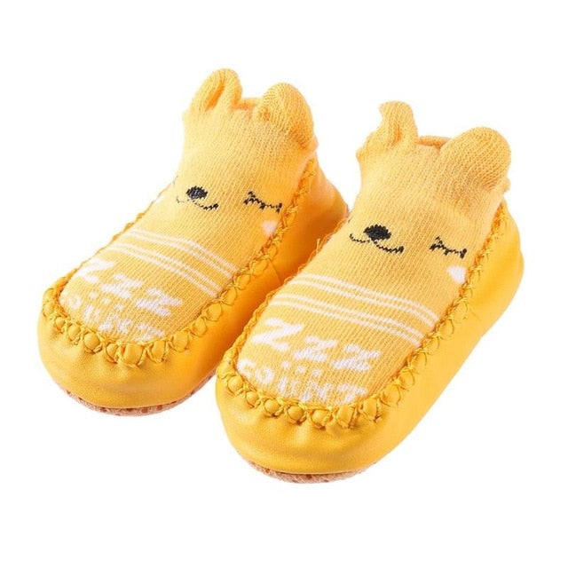 Cartoon Animal Face Baby Socks