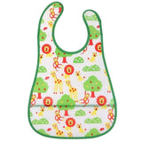 Baby Waterproof Bibs Cute Cartoon Baby Kids Bibs Saliva Towel Feeding Lunch Bandana Apron Bibs Burp Cloths Children Accessorries