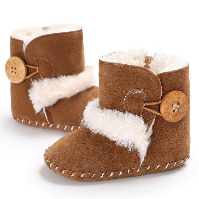Kid's Soft Bottom Winter Snow Boots