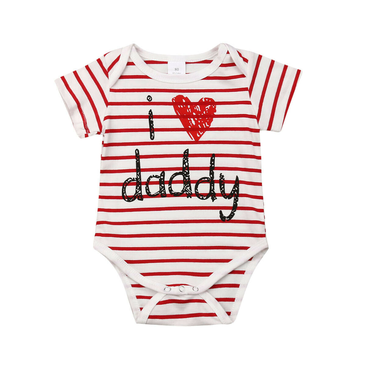 Newborn Baby Daddy Love Romper