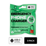 One-Time Use Recyclable Emergency Phone Charger