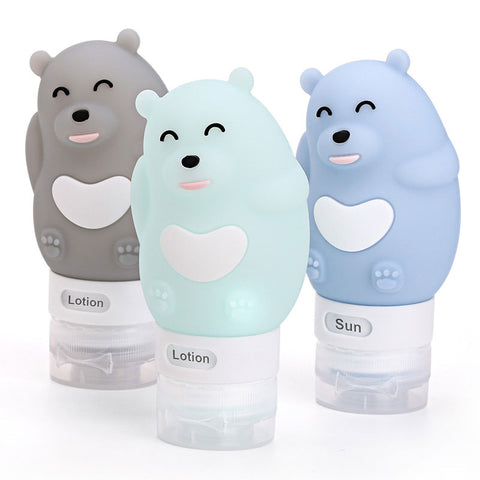 Travel Shampoo Bottle (Bear)