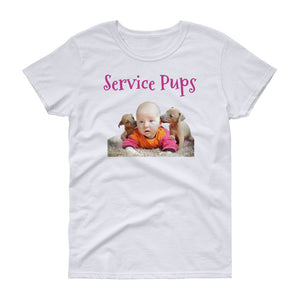 Service Pups Women's short sleeve t-shirt