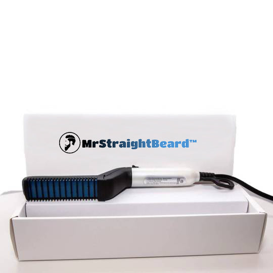 MRSTRAIGHTBEARD™ BEARD AND HAIR STRAIGHTENING COMB