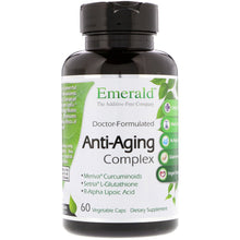 Load image into Gallery viewer, Emerald Laboratories, Anti-Aging Complex, 60 Vegetable Caps