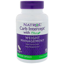 Load image into Gallery viewer, Natrol, Carb Intercept with Phase 2 Carb Controller, 120 Veggie Capsules
