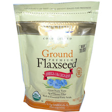 Load image into Gallery viewer, Spectrum Essentials, Organic Ground Premium Flaxseed, 14 oz (396 g)