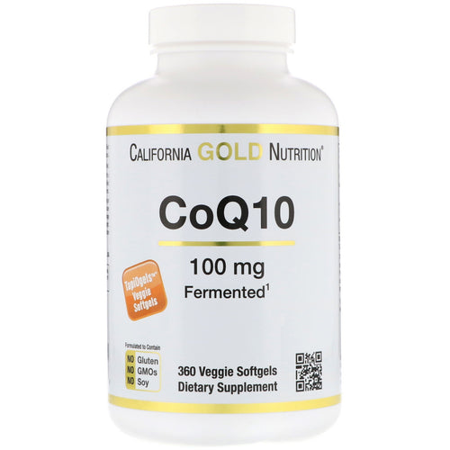 California Gold Nutrition, CoQ10, 100 mg,