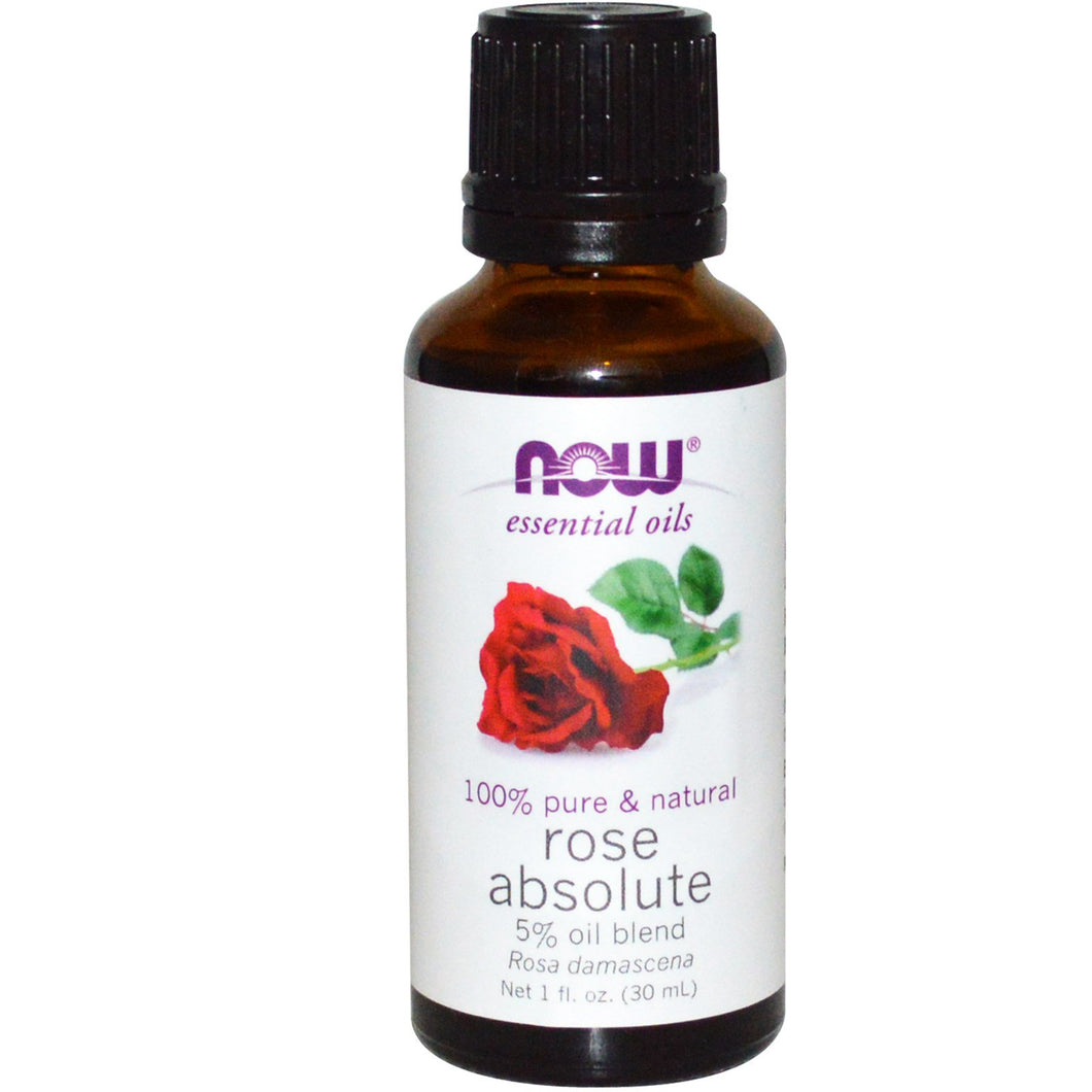 Now Foods, Essential Oils, Rose Absolute, 1 fl oz (30 ml)
