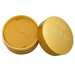 Petitfee, Gold Hydrogel Eye Patch, 60 Pieces