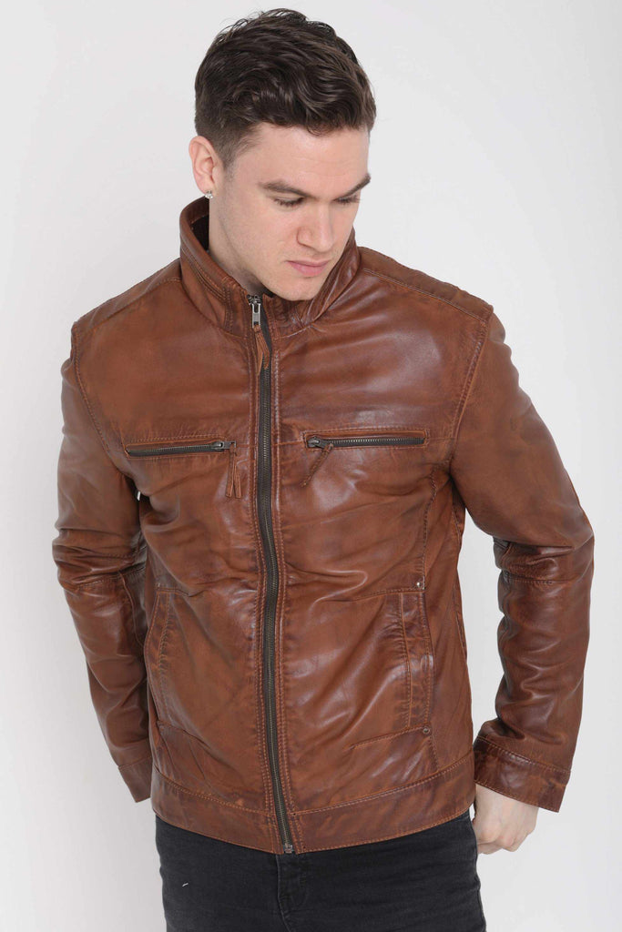 fc5b31bc3 Best leather jackets-Vintage leather | leather fashion 2019 – Star ...