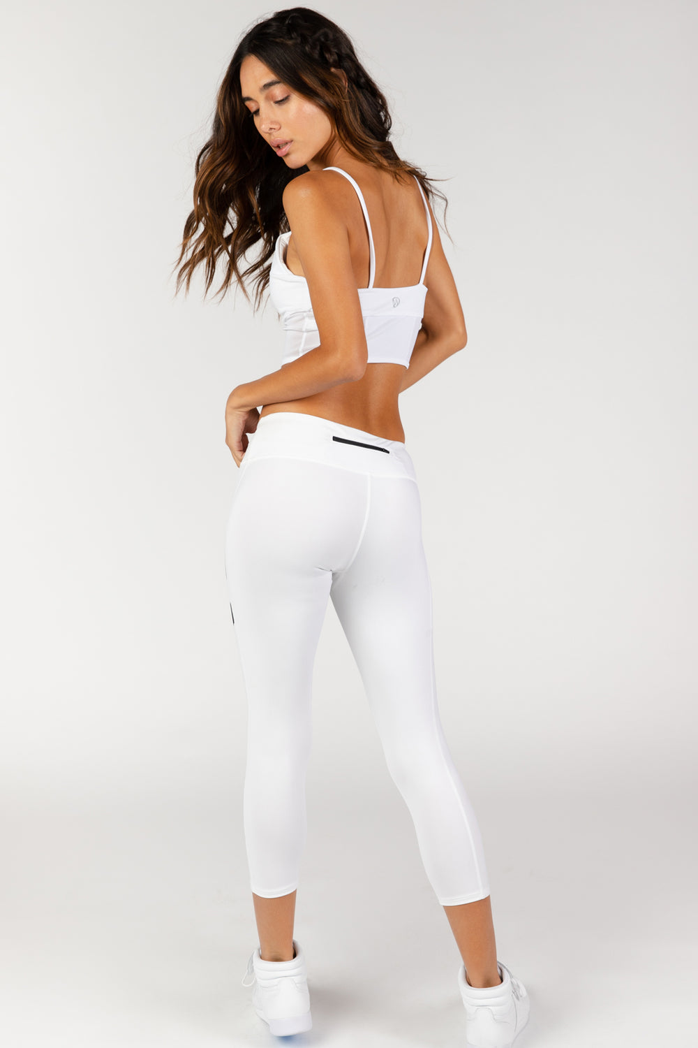 Finish Line White Leggings