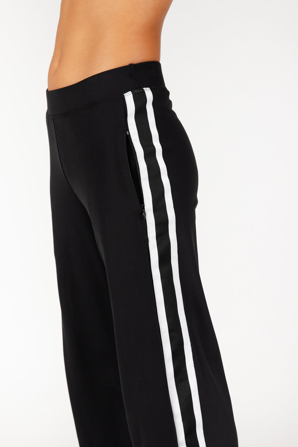 Good Vibes Black Track Pants