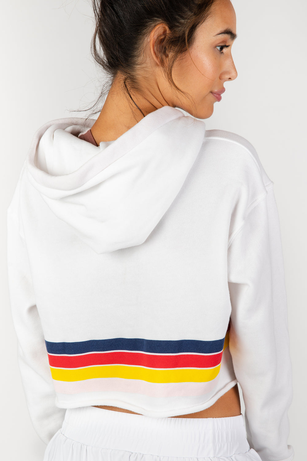 Groove with Me White Sweatshirt