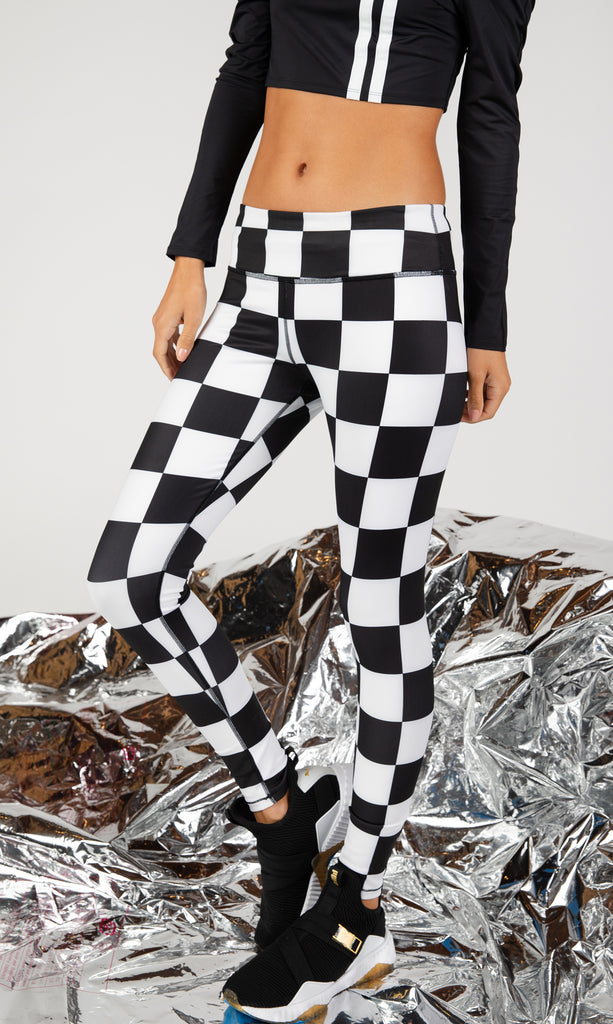 Seeing Checkers Leggings