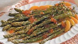 A.G.A. (Apricot Ginger Asparagus)