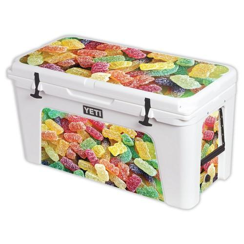 Skin For YETI Tundra 125 qt Cooler - Sour Candy MightySkins Protective,  Durable, and Unique Vinyl Decal wrap cover Easy To Apply, Remove, and  Change