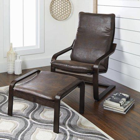 Awesome Better Homes And Gardens Sloane Bentwood Chair Ottoman Set Pdpeps Interior Chair Design Pdpepsorg