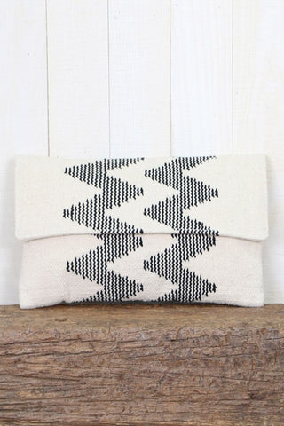 capri cotton clutch