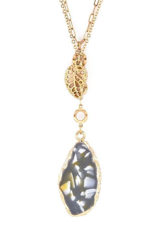 filigree stone drop