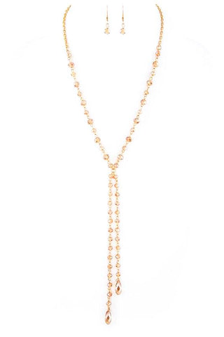 jeweled lariat