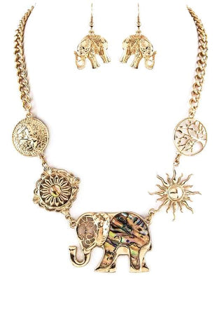 abalone starburst elephant set