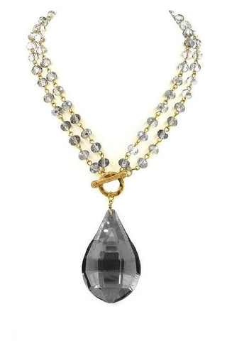 precious teardrop in black diamond