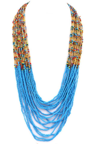 tropical seed bead in turquoise