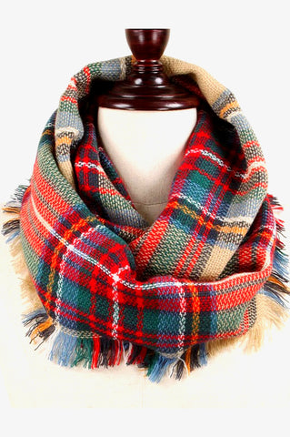 softest plaid in camel
