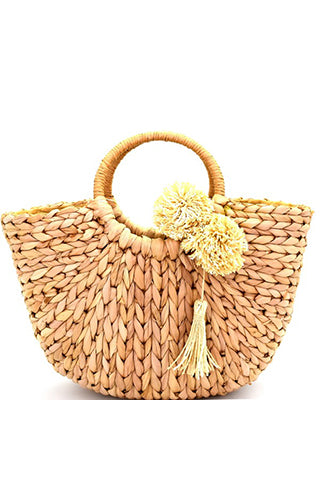 market morning straw bag