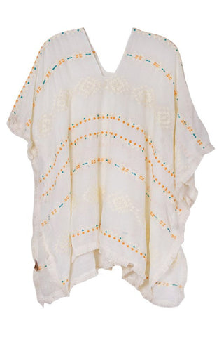 sandscape tunic in ivory
