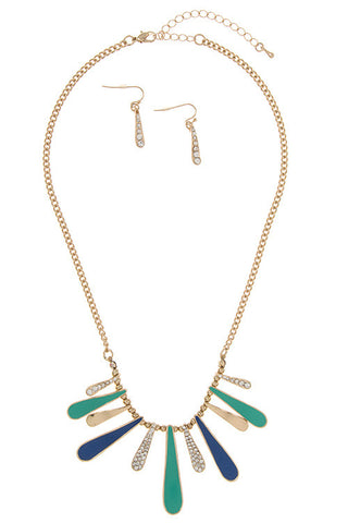 paradise dangle in turquoise