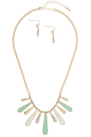 paradise dangle in mint