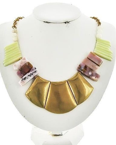 golden capri necklace