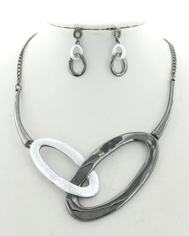 intertwined in silver
