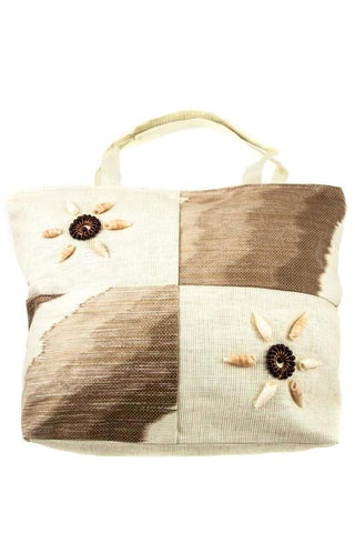 sunflower shell tote