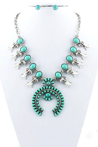 summer's statement piece in turquoise
